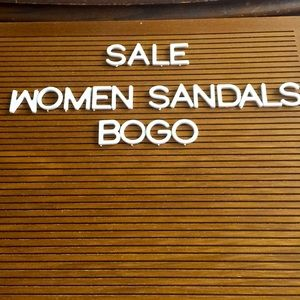 WOMEN SANDALS 👡 BUY ONE GET ONE FREE